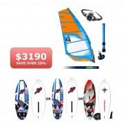 Learner Windsurf Pack at Jay Sails