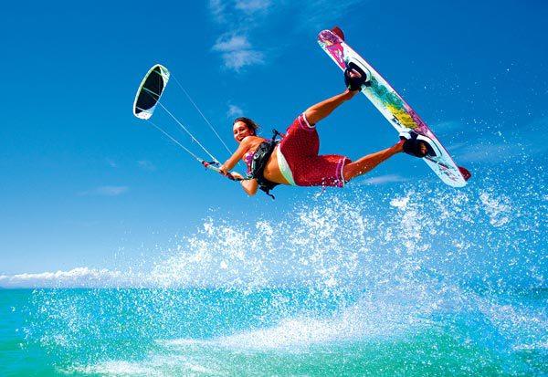 kitesurfing boards at Jay Sails