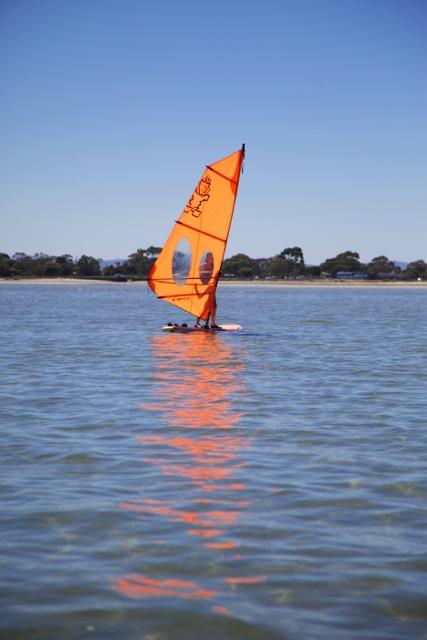 Jay Sails Learn to Windsurf Day Tasmania