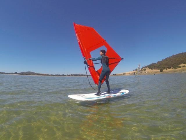 Learner Windsurfer Tasmania