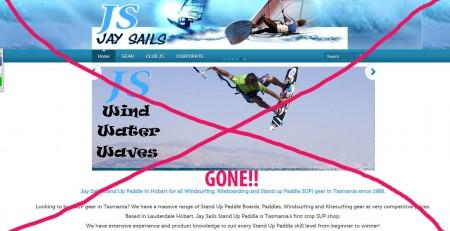 jay sails website old