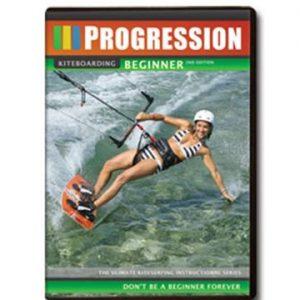 Progression dvd for kiteboarding learner kiteboarding