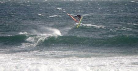 Carlton beach windsurfing