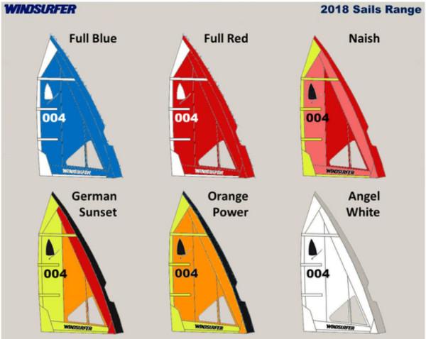 windsurfer lt sails